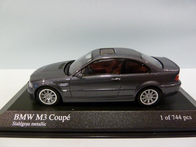 bmw m3 e46 coupe with engine 1 43 431020024 minichamps. Black Bedroom Furniture Sets. Home Design Ideas