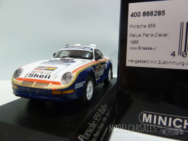 porsche 959 185 paris dakar 1st release rothmans livery. Black Bedroom Furniture Sets. Home Design Ideas