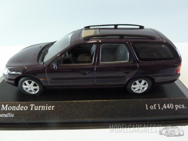 Modellauto Ford Mondeo Turnier schwarz 1:43 Minichamps