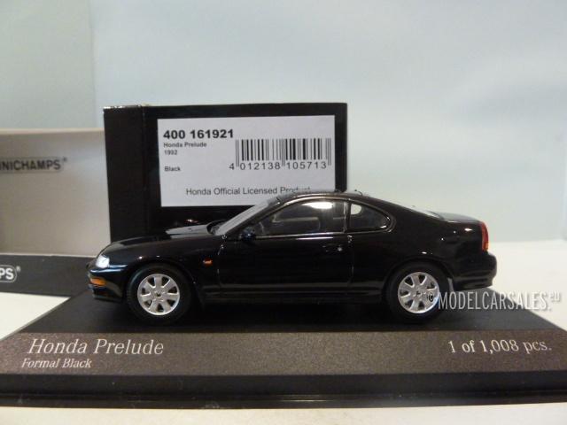 honda prelude black 1 43 400161921 minichamps modellauto. Black Bedroom Furniture Sets. Home Design Ideas