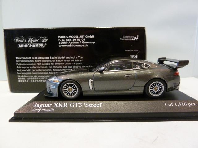 Jaguar XKR GT3 Street Grey Metallic 1:43 400081390 ...