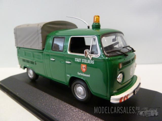 volkswagen  doka pritsche stadt stolberg   minichamps modellauto zu verkaufen