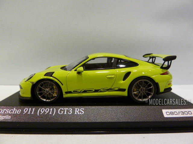 Porsche Gt3 Rs Price >> Porsche 911 (991) GT3 RS Birch (licht) Green 1:43 ...