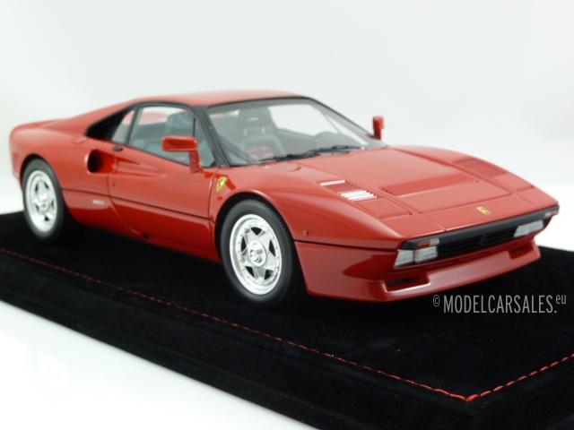 Ferrari 288 Gto Black W Red Interior Incl Display 1 18 P18112v1 Bbr Modellauto Zu Verkaufen
