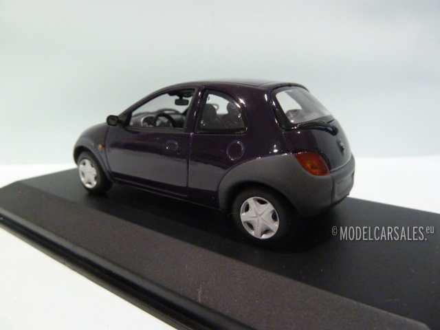 ford ka purple 1 43 430086401 minichamps modellauto zu. Black Bedroom Furniture Sets. Home Design Ideas