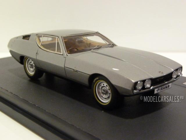 Jaguar Pirana Bertone Silver 1:43 MX41001-101 MATRIX Modellauto Zu verkaufen