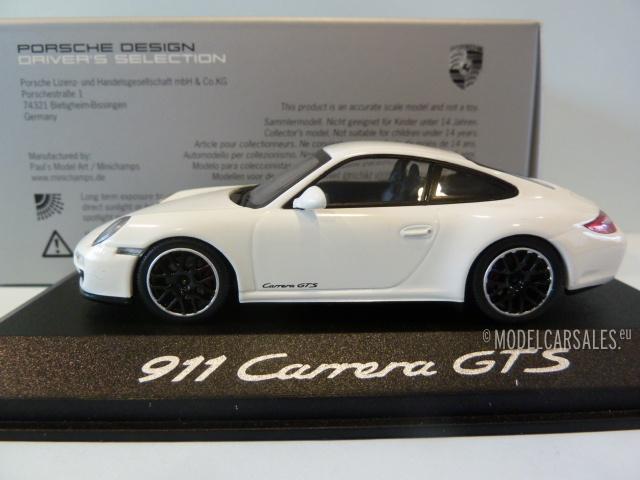 Porsche 43 911 Carrera 1 Gts Minichamps White Wap0200200b 6IYvf7gby
