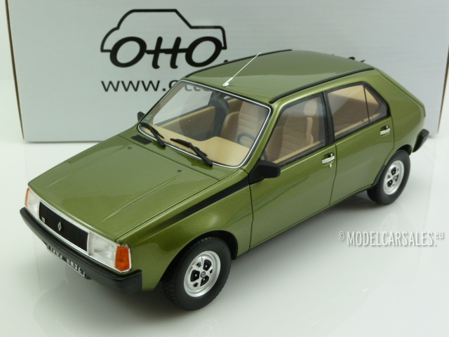 renault 14 ts green metallic 1 18 ot712 otto mobile modellauto zu verkaufen. Black Bedroom Furniture Sets. Home Design Ideas