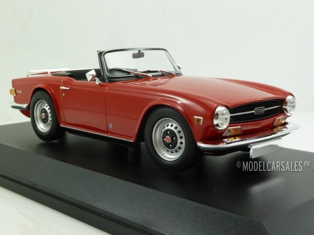 triumph tr6 rhd red 1 18 155132031 minichamps modellauto. Black Bedroom Furniture Sets. Home Design Ideas