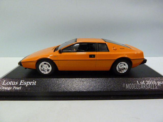 lotus esprit orange pearl 1 43 400135221 minichamps modellauto zu verkaufen. Black Bedroom Furniture Sets. Home Design Ideas