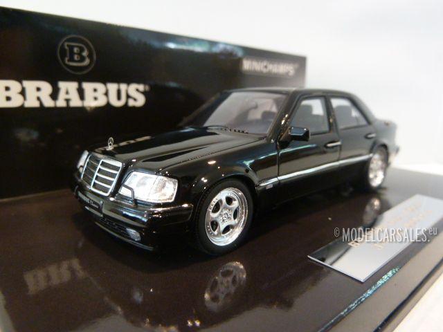 brabus mercedes benz 6 5 500e w124 e65 black 1 43. Black Bedroom Furniture Sets. Home Design Ideas