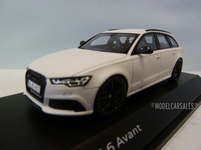 audi rs6 c7 avant fase ii mat glacier white 1 43. Black Bedroom Furniture Sets. Home Design Ideas