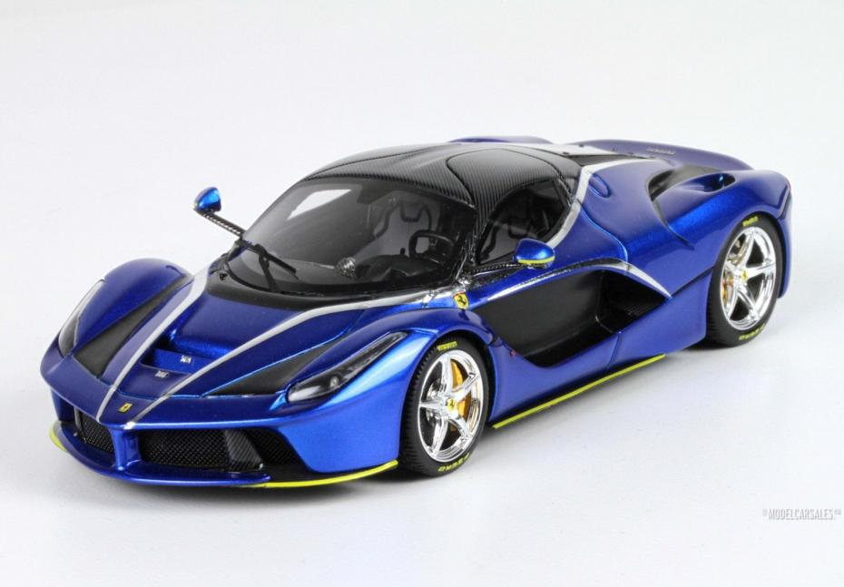 Ferrari Laferrari Blu Francia Blue Met 1 43 Bbrc137stbch Bbr Modellauto Zu Verkaufen
