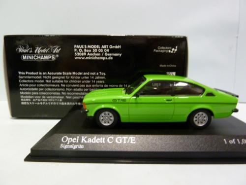 opel kadett c coupe gt e green 1 43 403048123 minichamps. Black Bedroom Furniture Sets. Home Design Ideas