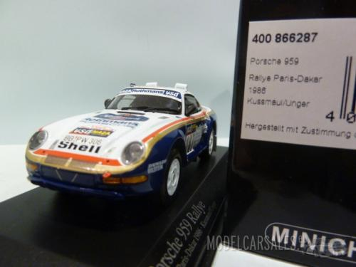 porsche 959 rallye 187 paris dakar 1st release rothmans. Black Bedroom Furniture Sets. Home Design Ideas