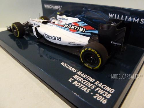 Williams Martini Racing Mercedes FW38